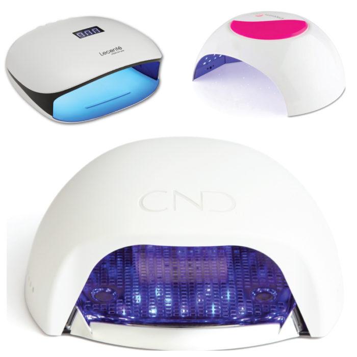 LED/UV- og varmelamper
